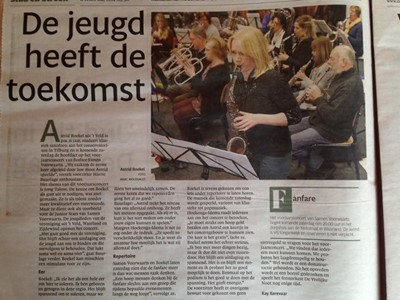 Artikel Noord-Hollands Dagblad
